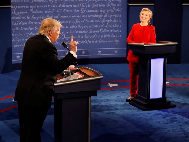 First Presedential Debate between Hillary and Trump