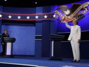 3rd GOP Debate - Donald Trump, Hillary Clinton