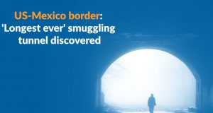 Tunnel Used for Drug Trafficking Discovered in United Sates-Mexico Border