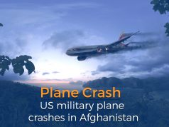 US Military Plane Crashes in Ghazni