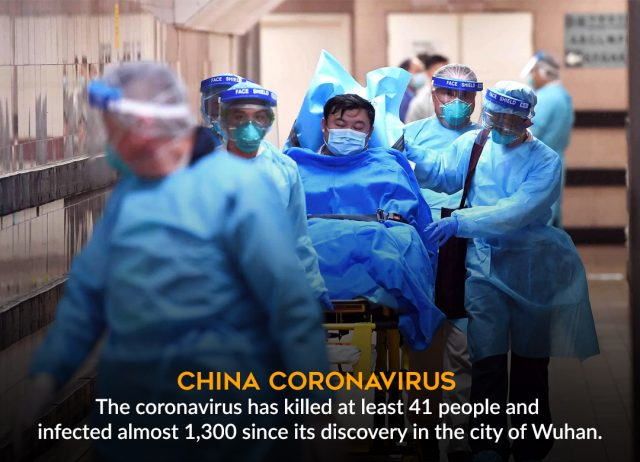 China - Coronavirus outbreak