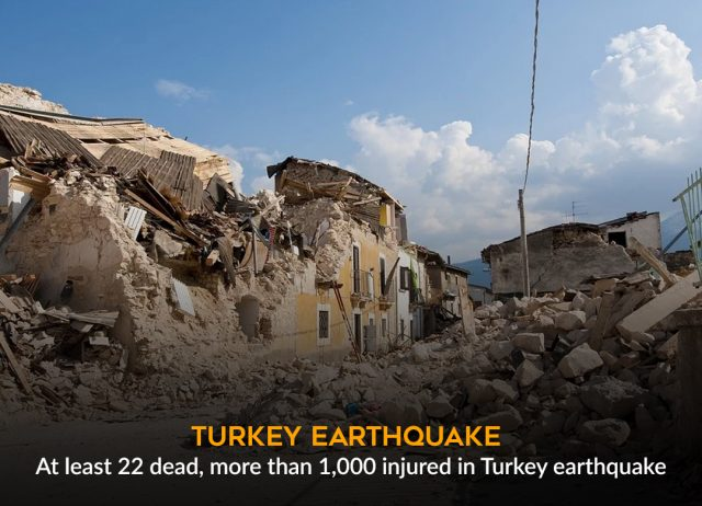 Turkey: Earthquake in Elazig