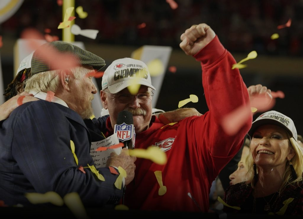 Chiefs beat 49ers to Lift their first ever Lombardi