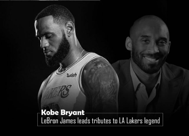 James and Company Pay Tribute to Kobe Bryant in the Home Game