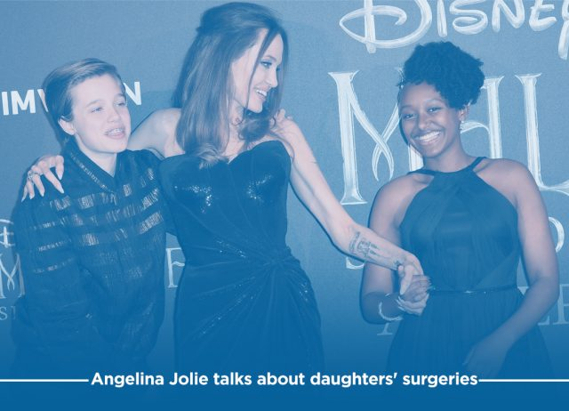 Angelina Jolie Reveals Surgeries of Her Two Daughters