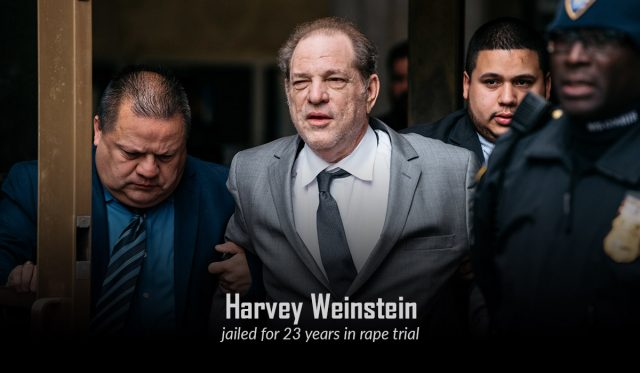 Harvey Weinstein Slapped with 23-Year Sentence