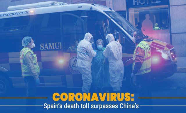 Spain Surpasses China in Total deaths by Covid-19