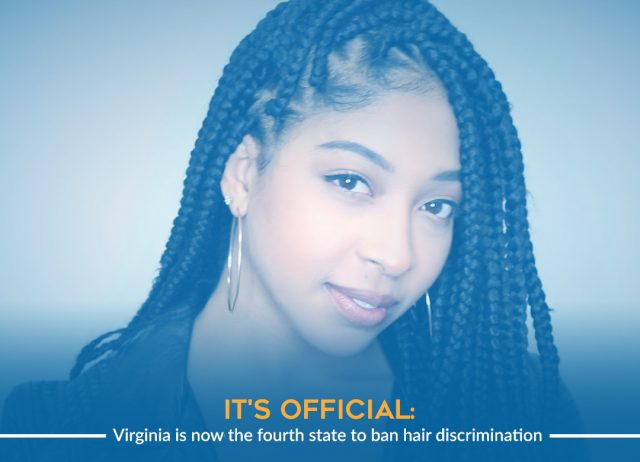 Virginia to Ban Hair Discrimination