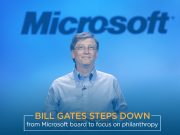 MS Co-Founder, Bill Gates Leaves Company's Board to Pursue Philanthropic Activities
