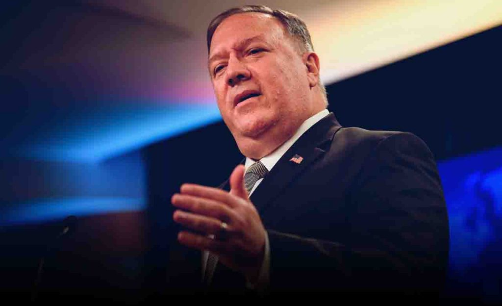 Pompeo says Russia is involved in Navalny's poisoning