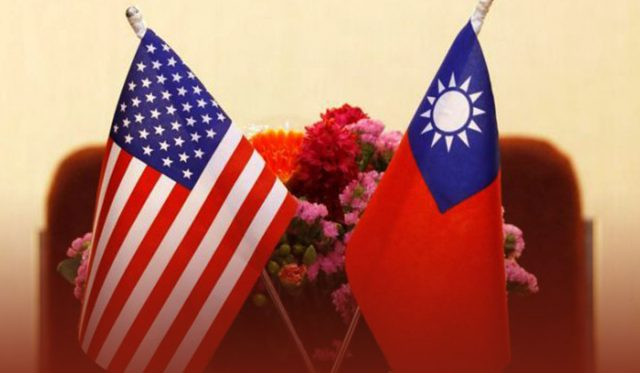 China and US fight over Taiwan