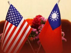 US and China in a row over Taiwan