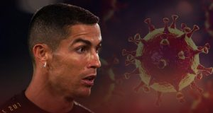 Cristinao Ronaldo is the new footballer to catch COVID-19