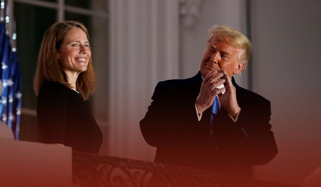 Amy Coney Barret confirmed as Supreme court judge