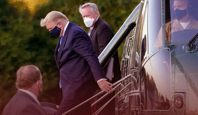 Trump health checked after a week of confusion