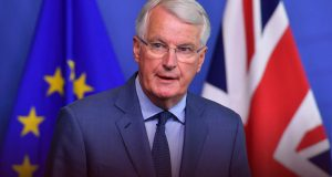 Brexit: Barnier arrives in UK for face-to-face talks