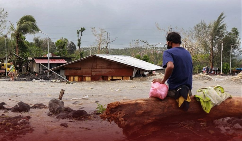 Storm in Philippines