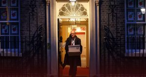 Cummings leaves Downing Street