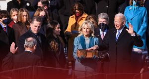 Joe Biden took oath as the 46th United States President