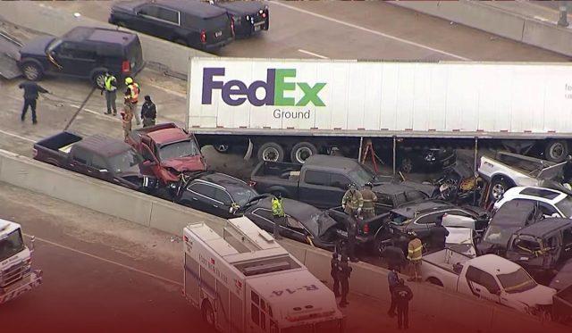 Fort Worth massive crash leaves at least 6 dead and several injured