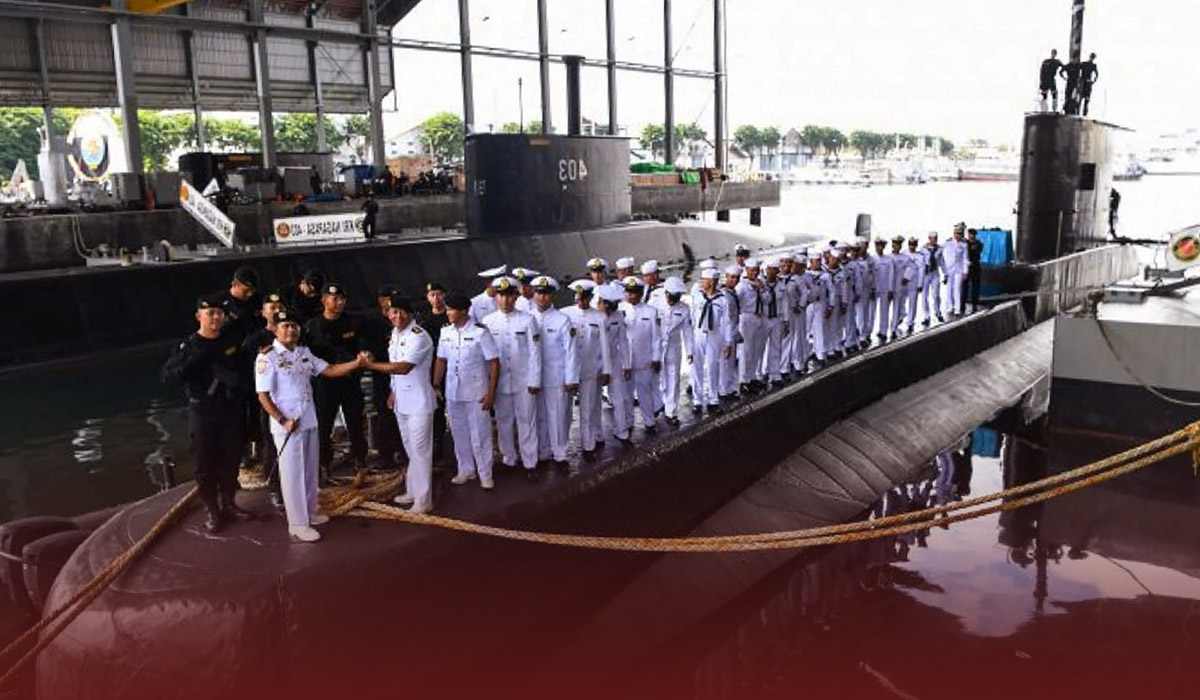 53 Lost Squad of Indonesian Naval Submarine is Declared Dead