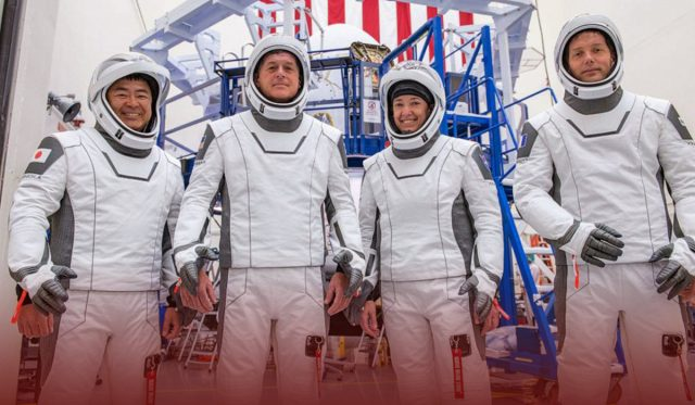 SpaceX Rocket Took off from Florida with four Astronauts