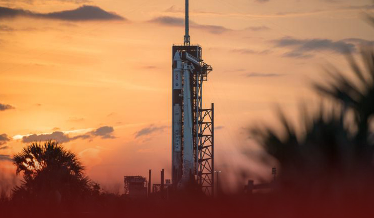 SpaceX Rocket Launched from Florida with four Astronauts