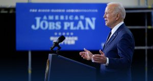 US President Biden says $2 Trillion Jobs Plan Rivals the Space Race