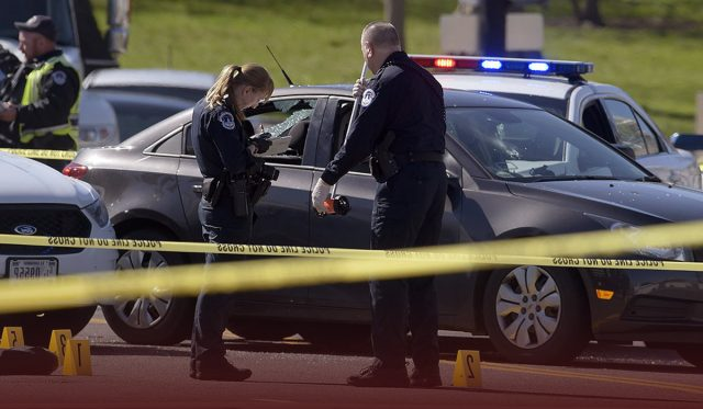 Capitol Police Officer Killed after a suspect hit a vehicle into police barricade