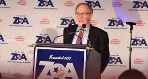 Zionist Organization of America (ZOA) Condemn Removing Iran Sanctions