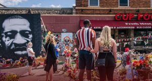 Moments of Silence held at George Floyd First Death Anniversary