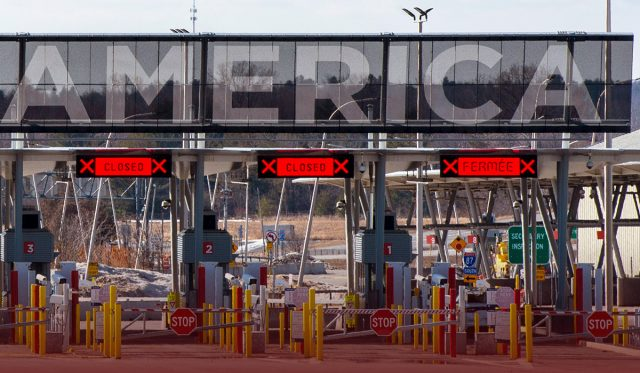 Expectation Builds for United States-Canada Border Reopening