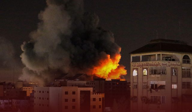 Israel Forces Violated Ceasefire Truce with Hamas by Launching Airstrikes