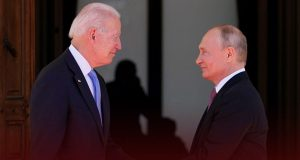 Putin and Biden Conclude G-7 Summit after Hours of Conversation