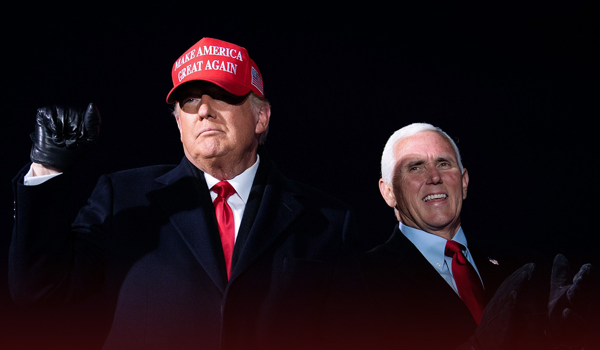 Trump says he isn't ready to re-up with Pence on campaign in 2024