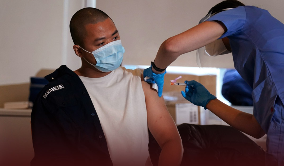 Vaccination in U.S. at Lowest point Since December 2020