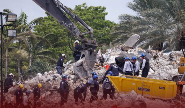 Death Toll Rises to 27 at Florida Building Collapse after Search Resumed