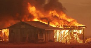 Firefighters Made Development against Fires in United States West