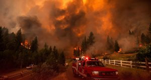 Biggest Fire in Northern California Destroyed Several Homes