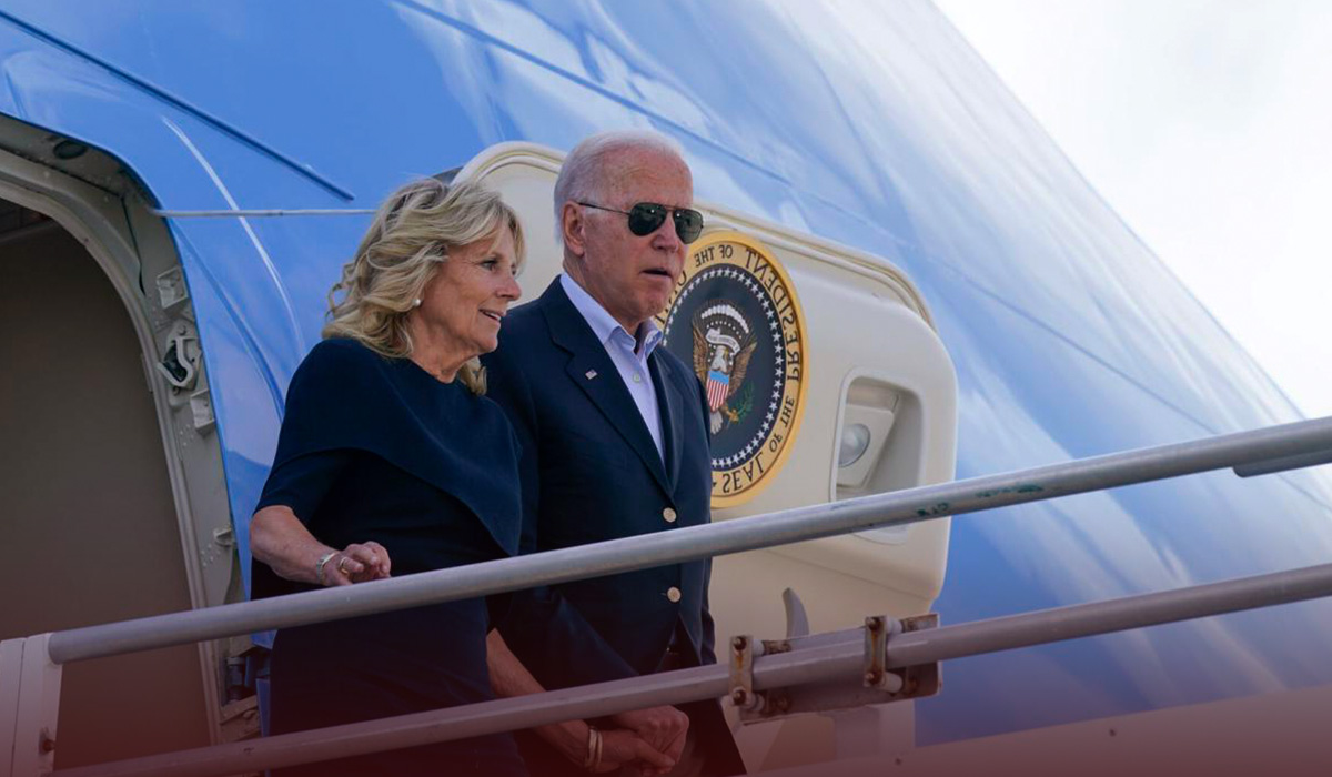 Joe Biden Visited Surfside Families of Condo Collapse to Console Them