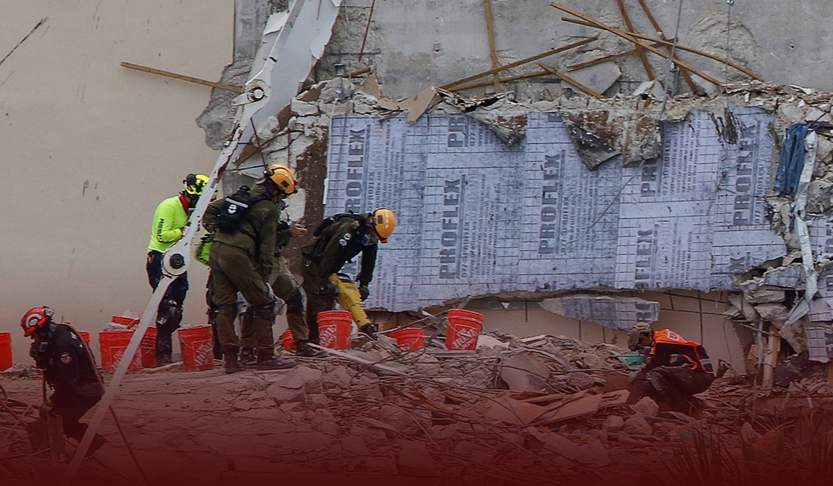 Search for Missing Ends at Condo Collapse