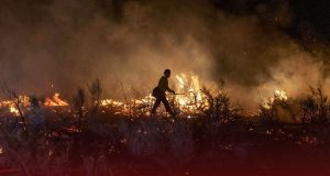The Oregon Wildfire Has Displaced 2,000 People from their Homes