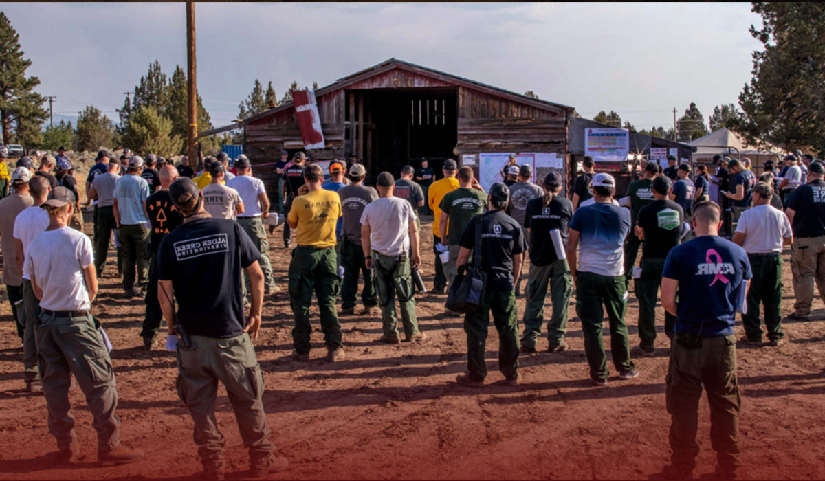 The Oregon Wildfire Has Displaced 2,000 People