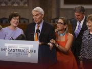 The United States Senate Started debate on a new infrastructure spending package