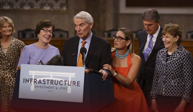 U.S. Senate Started debate on a new infrastructure spending package