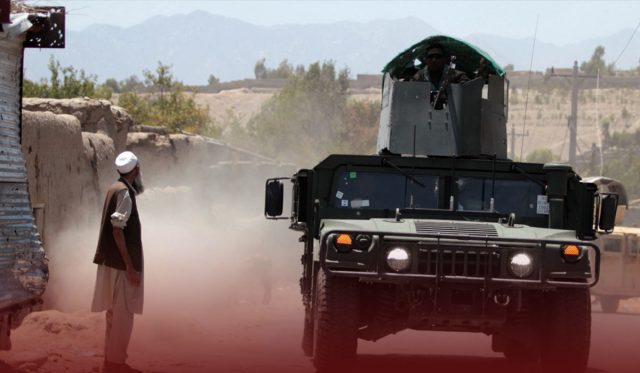The US Deeply Concerned about Taliban Advancement in Afghanistan