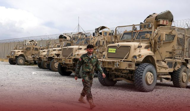 US Troops Left Bagram Airfield without Informing new Commander