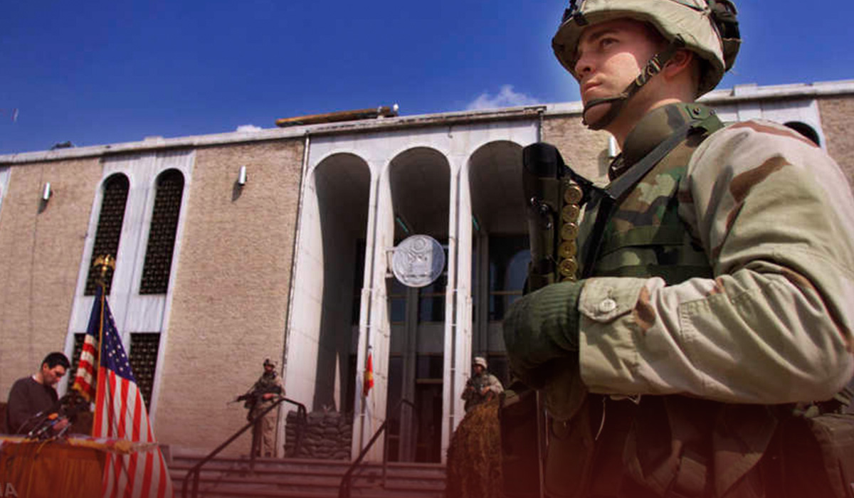 US Decided not to close Afghan Embassy amid Clashes
