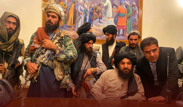 US Government Stunned by Taliban's Takeover of the Afghan Capital