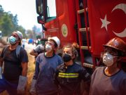 Turkey Wildfire Prompts Evacuation at Power Plant